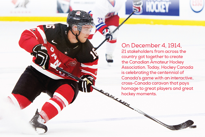 Hockey  Canada's 100th  Anniversary