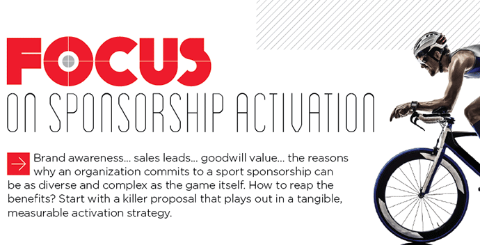 Focus on sponsorship activation