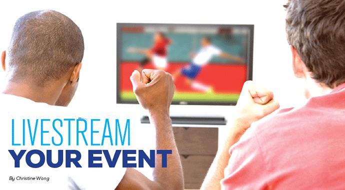 Livestream your event