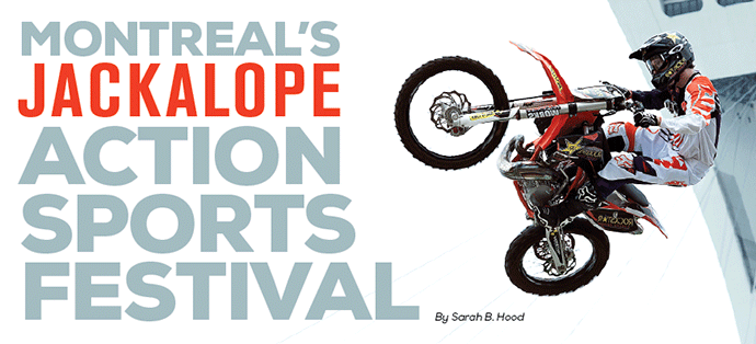 Montreal's  Jackalope  Action  Sports  Festival