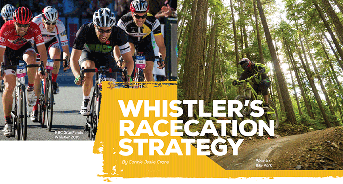 Whistler's Racecation Strategy