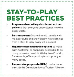Stay-to-Play Best Practices