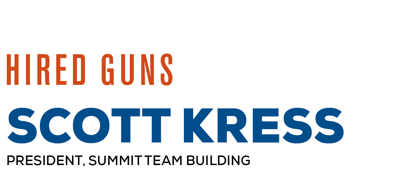 Hired Guns: Scott Kress