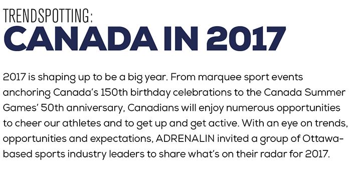 Trendspotting: Canada in 2017